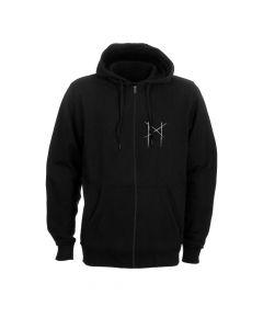 myrkur deer skull hooded zipper