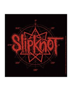 slipknot logo coaster