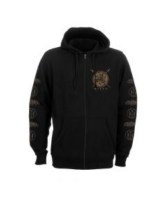 my dying bride the ghost of orion skull zip hoodie