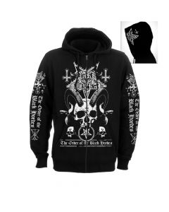 dark funeral order of the black hordes zip hoodie