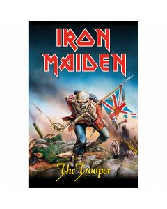 iron maiden the trooper flag