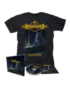sojourner premonitions digipak cd + t shirt bundle