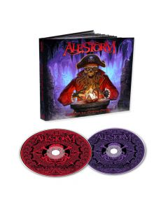 alestorm curse of the crystal coconut mediabook 2 cd