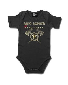 amon amarth little berserker grey baby body
