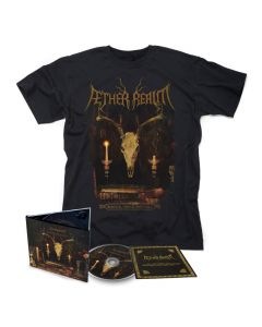 aether realm redneck vikings from hell digipak cd + t shirt bundle