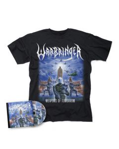 warbringer weapons of tomorrow cd + t shirt bundle