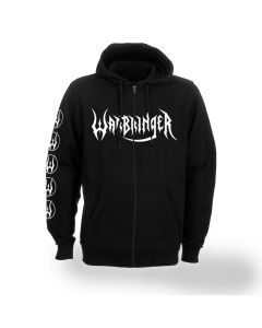 warbringer weapons of tomorrow zip hoodie