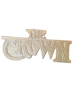 the crown logo pin