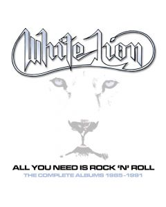 white lion all you need is rock n roll box
