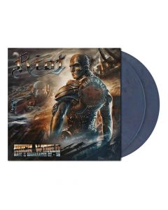 riot rock wold iron grey blue marbled 2 vinyl