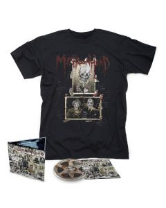 61270 mushroomhead a wonderful life digipak cd + t-shirt bundle crossover, nu metal