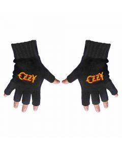 ozzy osbourn fingerless gloves