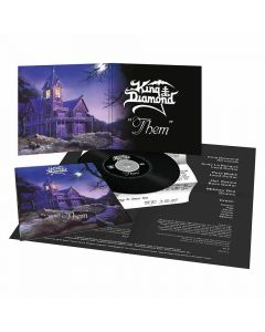 king diamond them mini gatefold replica cd