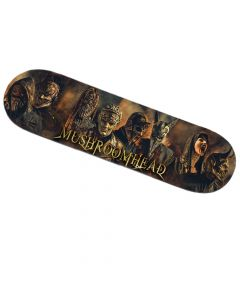 alestorm curse of the crystal coconut skateboard deck