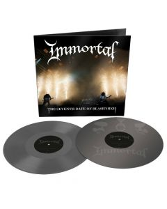immortal The Seventh Date of Blashyrkh grey 2 vinyl