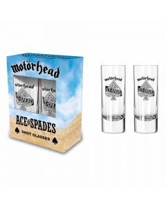 motorhead ace of spades shot glasses