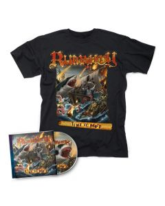 rumahoy time to party cd + shirt bundle