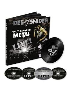 dee snider for the love of metal live earbook