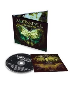 moonspell the butterfly effect digipak cd