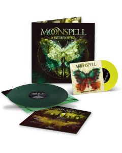 "moonspell the butterfly effect 7"" Single dark green vinyl"