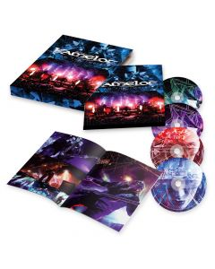 kamelot i am the empire live from the 013 digipak in slipcase 2 cd dvd blu ray