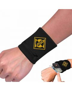 machine head diamond zip wristband