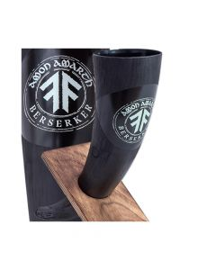 amon amarth berserker circle black drinking horn