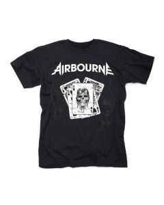 Airbourne Playing Cards T-shirt front