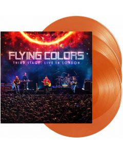 flying colors live in london orange vinyl