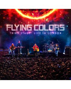 flying colors live in london cd dvd digipak