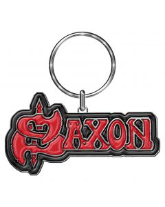 saxon logo key ring