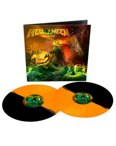 helloween straight ouf of hell remastered 2020 orange black re coloured vinyl