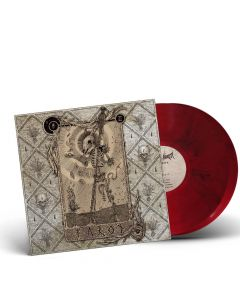 aether realm tarot red black marbled vinyl
