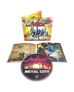 raven metal city digipak cd