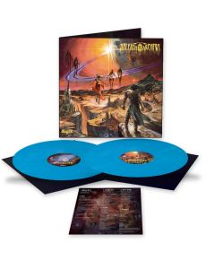 unleash the archers abyss sky blue 2 vinyl