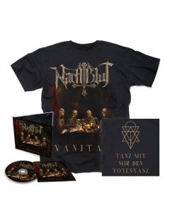 nachtblut vanitas digipak cd shirt bundle