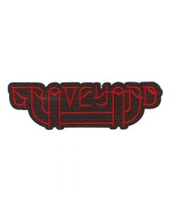 graveyard logosolid embroided patch