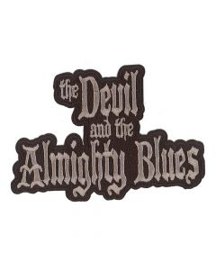 the devil in the almighty blues logo patch