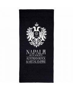 napalm records eagle towel handtuch badetuch