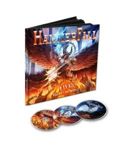 hammerfall live against the world earbook