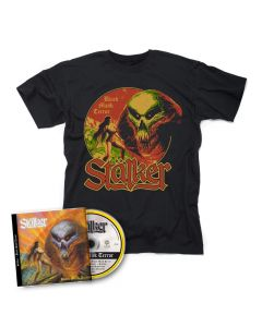 stälker black majik terror cd + t shirt bundle