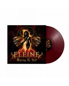 eleine dancing in hell coloured cover blood red vinyl
