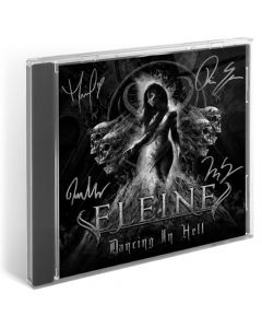 eleine dancing in hell black white cover signed cd