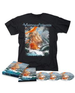 A Symphonic Journey To Remember - Digipak CD + DVD + Blu Ray + T Shirt Bundle