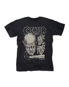 kreator love us or hate us shirt