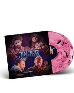 Jinjer - Alive In Melbourne - Pink Black Marbled 2-LP Vinyl