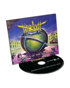 harlott detritus of the final age digipak cd