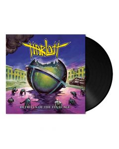 harlott detritus of the final age black vinyl