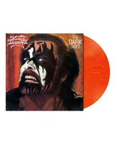 King Diamond The Dark Sides Red Orange White Marbled Vinyl