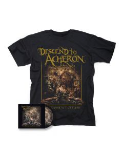 descend to acherson the transience of flesh cd shirt bundle